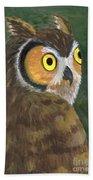 Owl 2009 Bath Towel