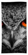 owl Bath Towel
