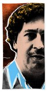 Pablo Escobar  Bath Towel