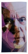 Pablo Picasso Portrait  Bath Towel