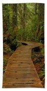 Pacific Rim National Park Boardwalk Bath Towel