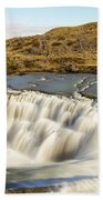 Paine River Waterfall Bath Towel