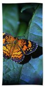 Painted Butterfly Bath Towel