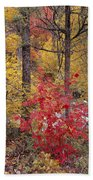 Painted Forest Bath Towel
