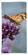 Painted Lady Bath Towel