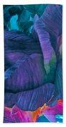 Painted Silk Bath Towel