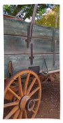 Painted Wagon Bath Towel