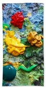 Painters Palette Bath Towel