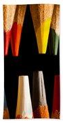 Painting Pencils Hand Towel