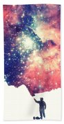 Painting The Universe Awsome Space Art Design Bath Towel