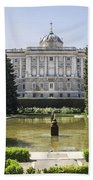 Palacio Real De Madrid Bath Towel
