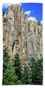 Palisades - Cimarron Canyon State Park - New Mexico Bath Towel