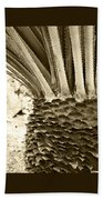 Palm Abstraction Bath Towel