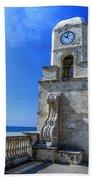 Palm Beach Clock Tower  Bath Towel