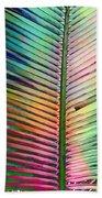 Palm Leaf Art Bath Towel