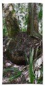 Palm Roots Bath Towel