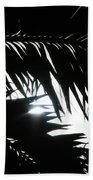 Palm Silhouettes Kaanapali Bath Towel