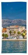 Palm Waterfront Of Split City Bath Towel