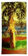 Palmetto Tree Bath Towel
