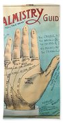 Palmistry Guide Hand Towel