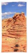 Panoramic Desert Landscape Fantasyland Bath Towel