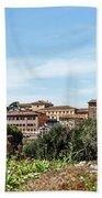 Panoramic View Of Rome Bath Towel