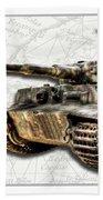 Panzer Tiger I Side Bath Towel