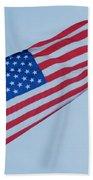 Parachute And Flag Bath Towel