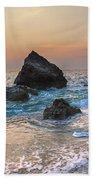 Paradise Beach Sunset Bath Towel