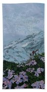 Paradise Mount Rainier Bath Towel