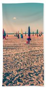 Parasols Of Deauville Hand Towel by Delphimages Photo Creations
