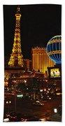 Paris In Las Vegas-nevada Bath Towel