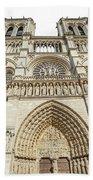 Paris Notre Dame Bath Towel