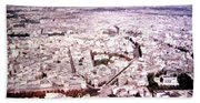 Paris Panorama 1955  Bath Towel