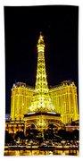 Paris Vegas Bath Towel
