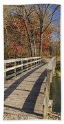 Park Bridge Autumn 2 Bath Towel