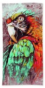 Parrot Art 09i Bath Towel