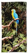 Parrot Bath Towel