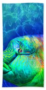 Parrotfish - Rainbow Spirit Bath Towel