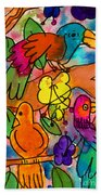 Parrots Bath Towel