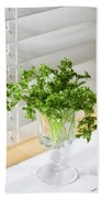 Parsley Bouquet Bath Towel