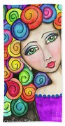 Party Girl Hand Towel