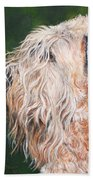 Pascal, Soft Coated Wheaten Terrier Bath Towel