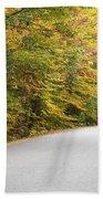 Passaconaway Road - White Mountains New Hampshire Usa Bath Towel