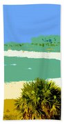 Pastel Beach Bath Towel