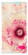 Pastell Poppy Bath Towel