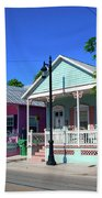 Pastels Of Key West Bath Towel