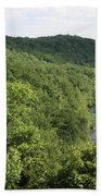 Patapsco Valley State Park - Overlook Bath Towel