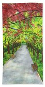 Serenity  Hand Towel by Lisa Bentley