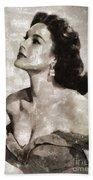 Patricia Medina, Vintage Actress Bath Towel
